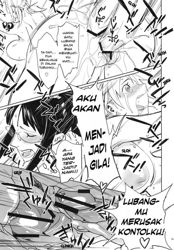 Komik Manga XXX One Piece - Nami Ngentot Nico Robin