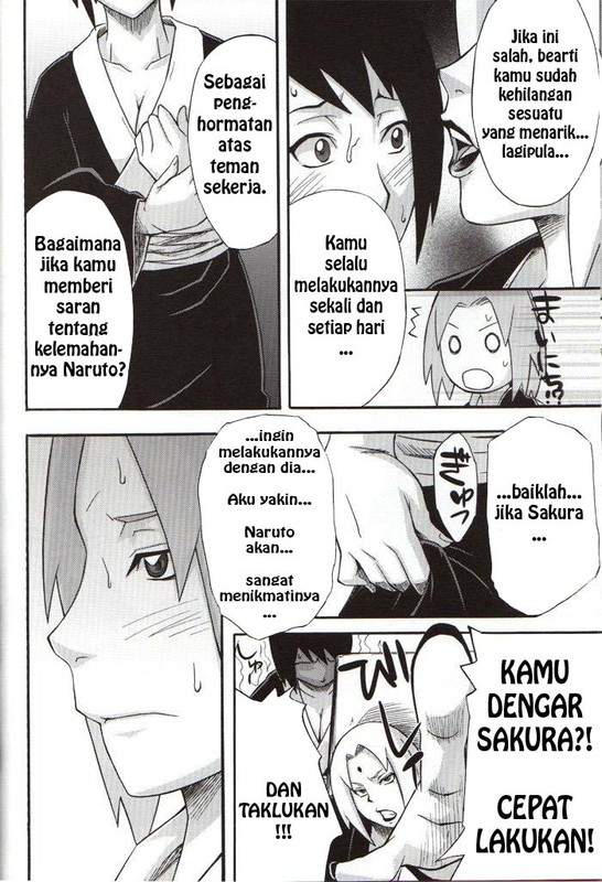 Komik Manga XXX Sakura Diperintahkan Ngentot Dengan Naruto