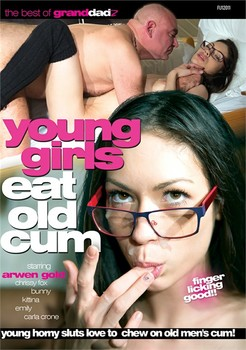 Young Girls Eat Old Cum