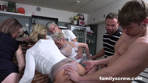 FamilyScrew 20 04 08 Virgin Son Learning To Fuck From Old Bar Ladies XXX 1080p MP4-KTR