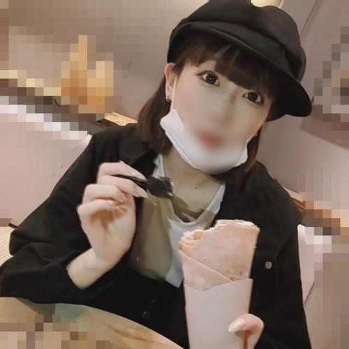 【オボワz☆ 投稿作品】★【無修正】少女の様に華奢なJD・夜のカフェデートからホテルで中出し