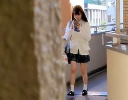 【ovz投稿作品】★彼女もちゃんと笑顔で挨拶してくれて良い子ちゃんです(^^)12