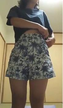 【ovz投稿作品】激カワ!J★の自撮りオナてんこ盛り(美少女)【Live446】〇褐色の綺麗な肌のJK